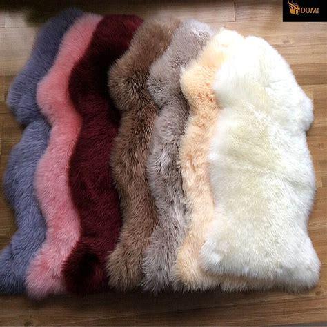 dyed sheepskin rugs 1 pc free shipping 100 sheepskin carpet hair sheepskin rugs dyed color in carpet from home
