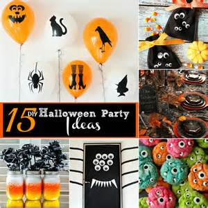 Halloween Party Homemade Decorations Diy Halloween Party Decorations