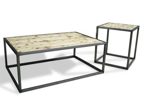 modern industrial furniture industrial modern coffee cocktail table set kb
