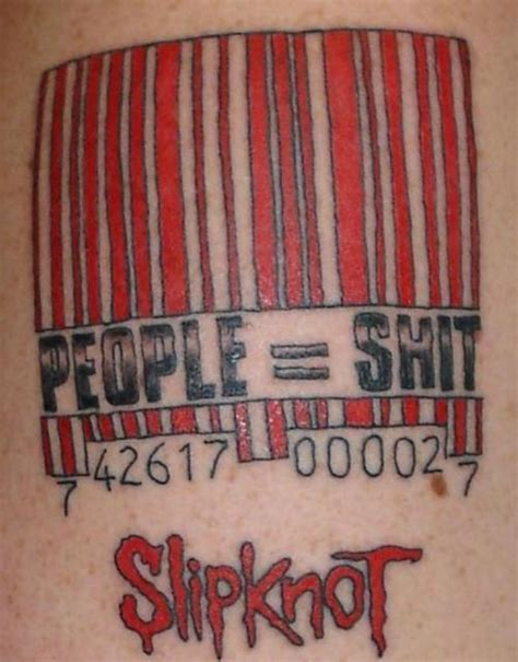 barcode tattoo amazon slipknot barcode tattoo picture at checkoutmyink com
