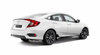2016 honda civic sedan gets sporty black pack option in