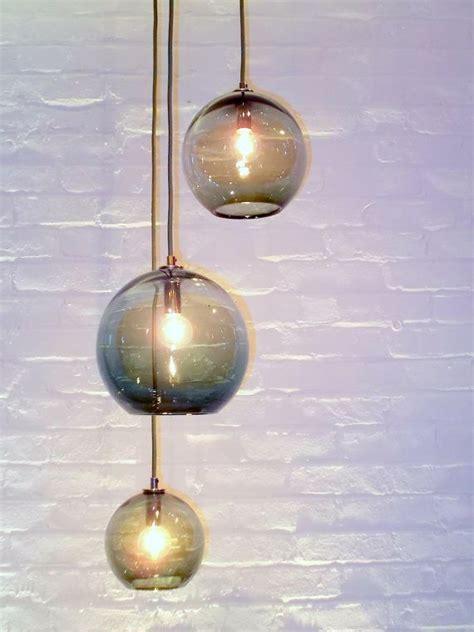 custom glass pendant lights shades of gray adagio cluster pendant chandelier hand