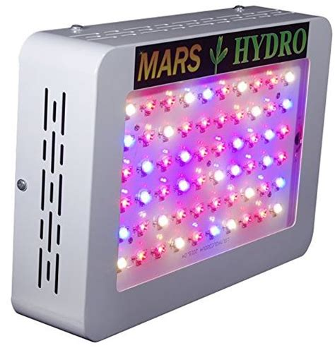 marshydro mars  led grow light review