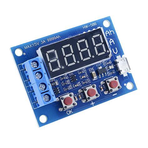 Zhiyu Battery Capacity Meter Discharge Tester 1 5v 12v For 18650 T301 2 1 5v 12v battery capacity meter discharge tester 18650 li ion lithium lead acid ebay