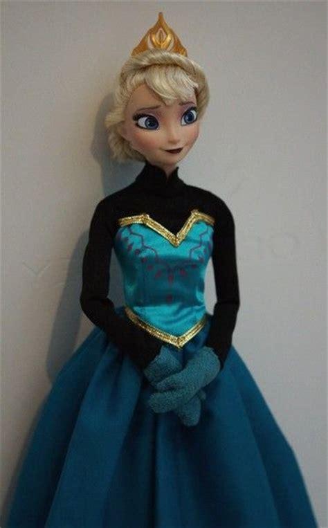 film elsa barbie elsa ooak doll disney frozen at the movies frozen