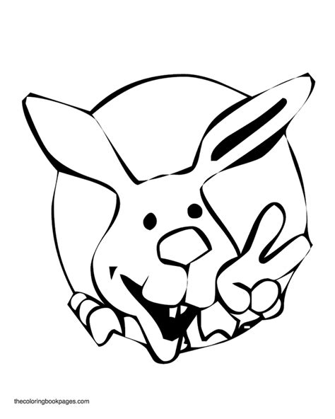 coloring pages bunny face bunny face coloring page coloring home