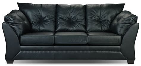 max sofa bed max faux leather full size sofa bed black the brick