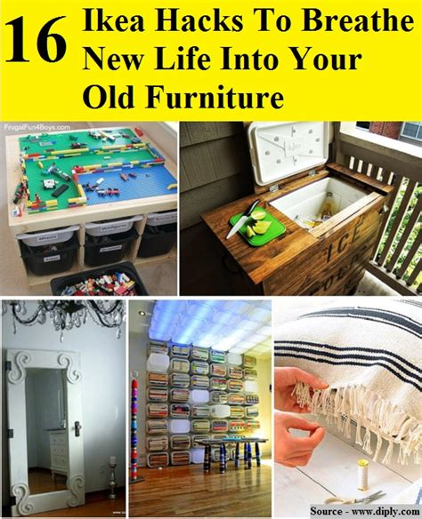 16 ikea hacks to breathe new life into your old furniture