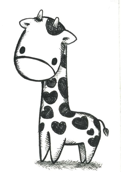 how to draw a giraffe doodle the world s catalog of ideas