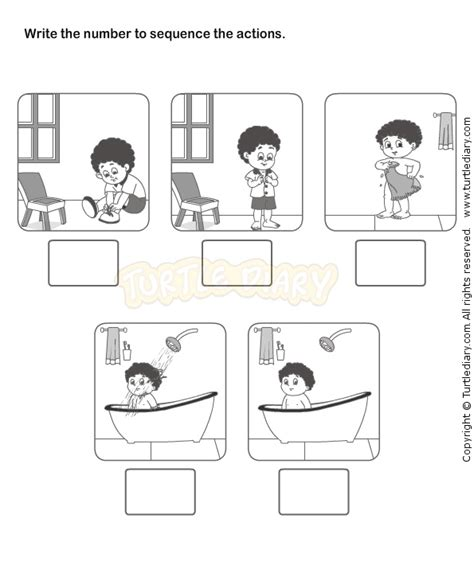 Free Sequencing Worksheets by 17 Best Images About Sequences On Kindergarten