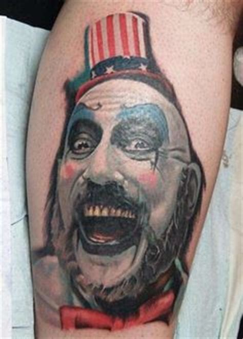 1000 images about captain spaulding tattoos on pinterest