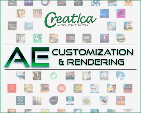 Envato After Effects Template by After Effects Template Customization And Rendering By