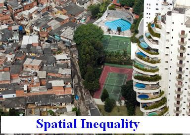 spatial inequality in australia home