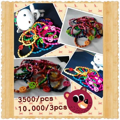 Gelang Hello Hk Merah Custom warung gelang 100 handmade bracelet part 1