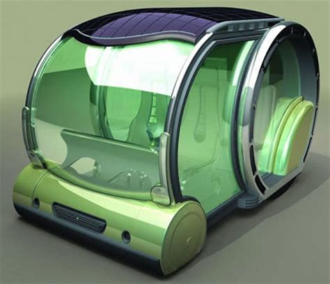 future french solar powered car concept for 2030 | green