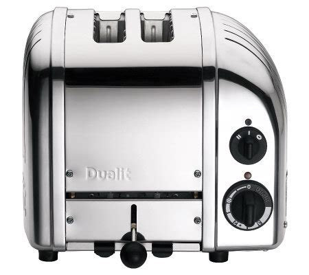 Dualit Tostapane by Dualit 2 Slice Newgen Toaster Chrome Qvc