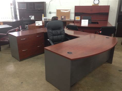 bush office desk attractive bush components bow front u shaped executive
