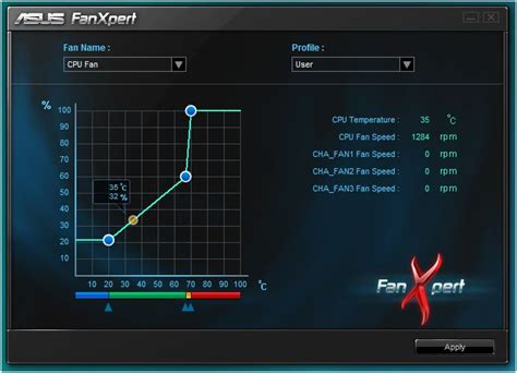 fan speed control software asus crosshair iv formula motherboard review software page 3