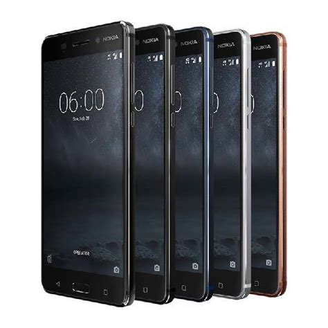 android smartphones nokia 6 android smartphone boasts 5 5 hd display 16mp and more gadgetsin
