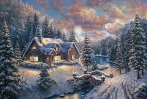 Harrison Barnes Father High Country Christmas Limited Edition Art The Thomas