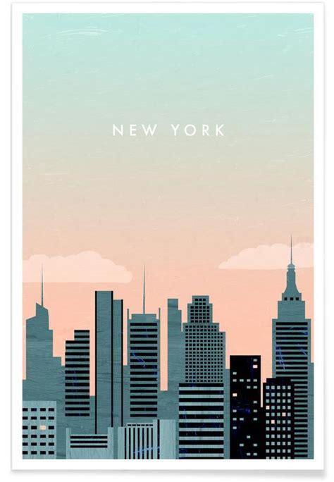 retro  york poster juniqe