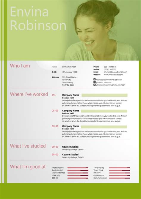20 Awesome Resume Templates 2016 Get Employed Today Awesome Resume Templates