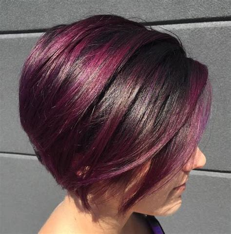 stacked bob haircuts dyed red 50 best bob hairstyles for 2018 cute medium bob haircuts