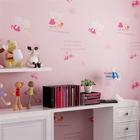 hello kitty wallpaper for bedroom aliexpress com buy 2016 new arrival cute hello kitty