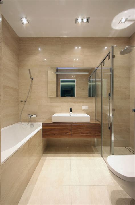 Modern Apartment Bathroom by A Modern Apartment In A City S Historic Center Design Milk