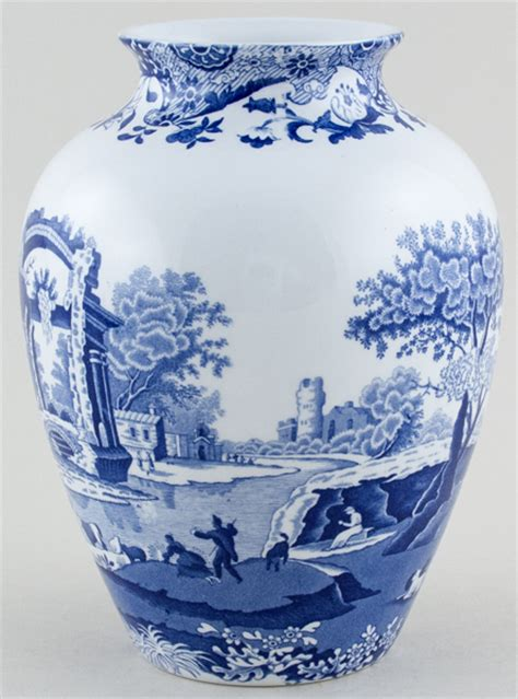 Spode Vase by Spode Italian Vase C2000 Of Blue And White