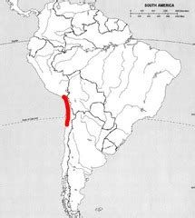 south america map atacama desert geography alive america mapping lab flashcards quizlet