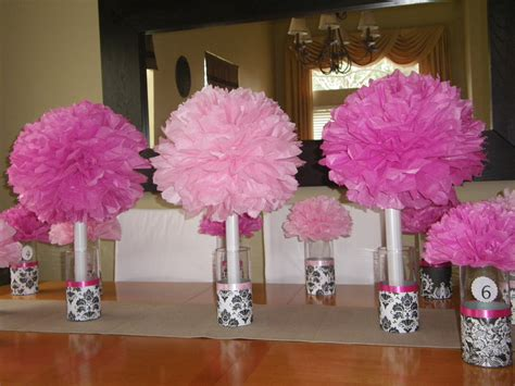 Paper Table Decorations To Make - designs by cris easy centerpiece