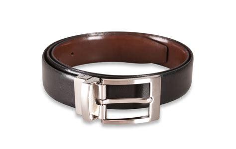 reversible mens leather belt black brown thin suit belts