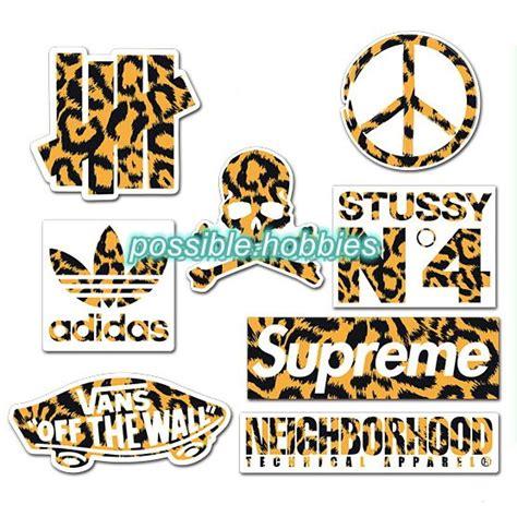 Stiker Ac Leopard 30 best images about skateboard sticker lot pack on