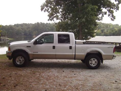 f250 short bed buy used 2001 ford f250 crew cab short bed lariat 4x4 7 3