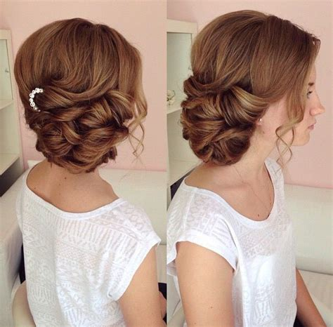 Wedding Hairstyles To The Side by Wedding Hairstyles Updo To The Side Www Pixshark