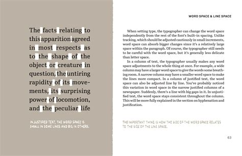 book layout justification inside cyrus highsmith s new book a typographic classic
