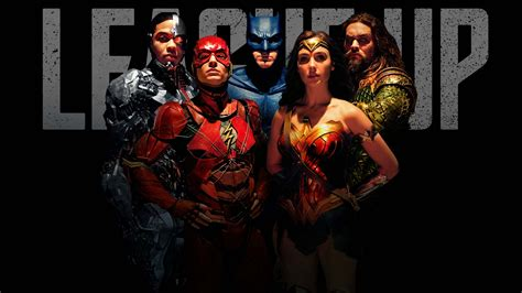 justice league justice league league up poster screen rant