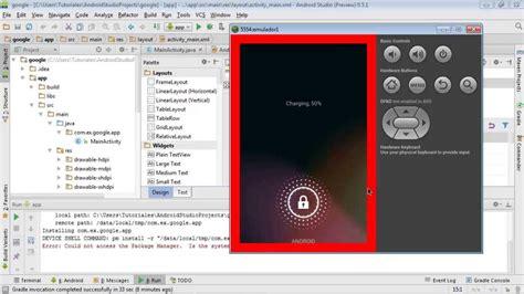 app layout not loading android studio crear emulador y abrir mi primer app