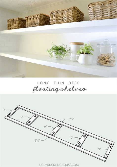17 best ideas about floating shelves on rustic