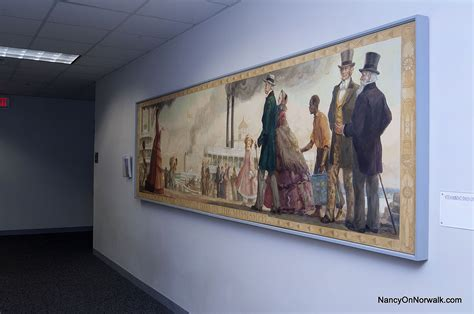 controversial wpa mural   removed  norwalk city