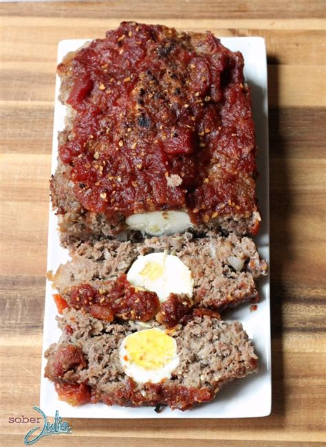 meatloaf with eggs images