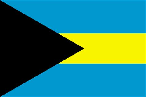 bahamas flag free colouring pages