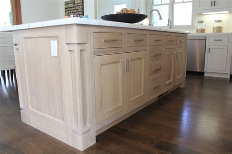 Shaker Style Kitchen Island White Shaker Kitchen Contemporary Kitchen San Francisco By Roth Wood Products