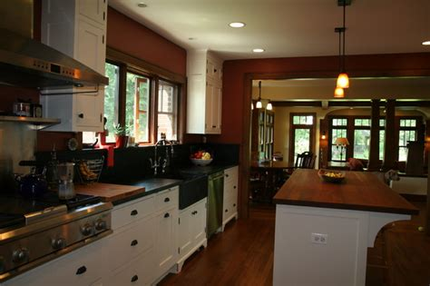 Rustic Kitchen Island Plans bungalow renovation and addition traditional kitchen