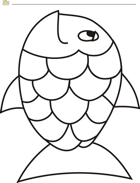 fish template pdf 25 best ideas about rainbow fish crafts on