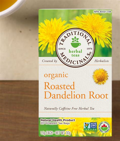 Roasted Dandelion Root Tea Detox by Roasted Dandelion Root