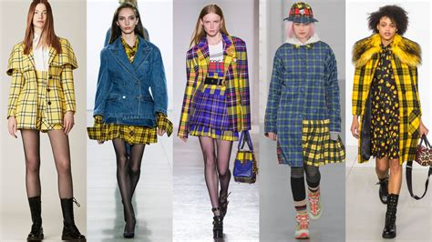 Winter Fashion Trends How To Wear Plaid by Cher Horowitz Approved Plaid Has Taken The Fall 2018