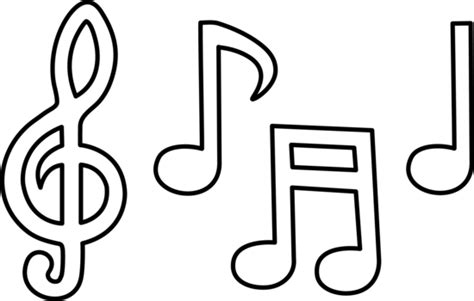 bordes para notitas colouring pages coloreando dibujos de notas musicales colorear im 225 genes