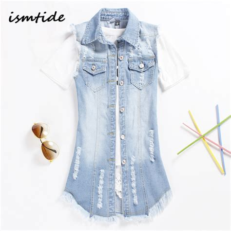 Vest Cardigan Denim vests cardigan denim jacket fashion vests cardigan sleeveless waistcoat